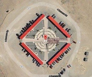 Google Maps View of Four Corners Monument