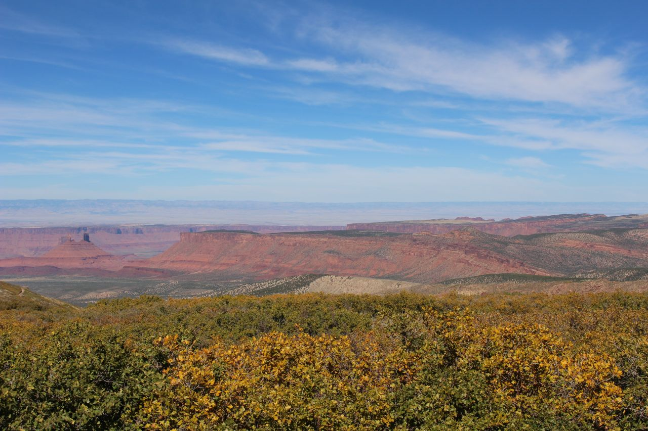 The View From Manti-La Sal  Loop Road