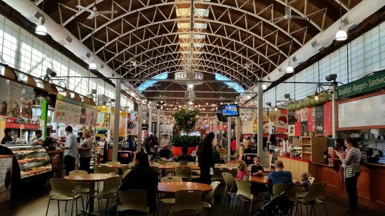River Market In Little Rock, AR