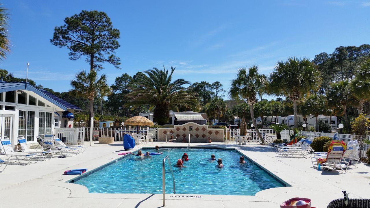 Chlorinated Pool