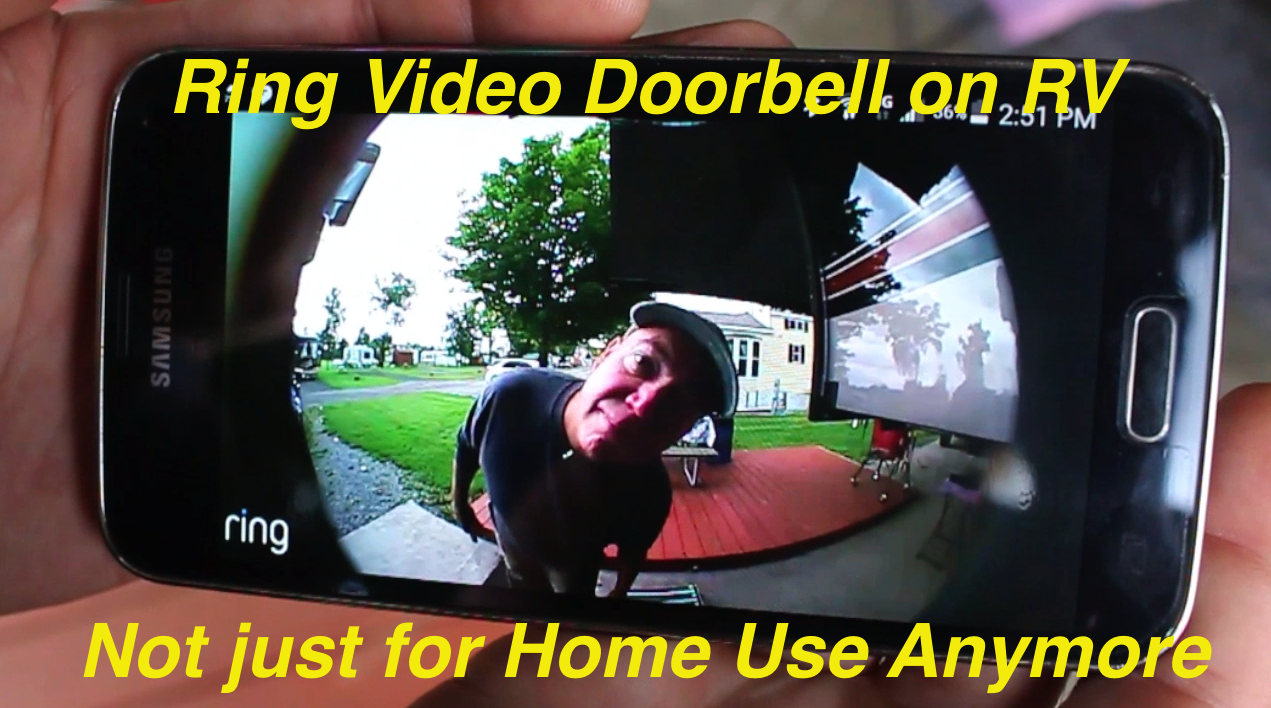 Video Doorbell For An RV? You Betcha! - Outside Our Bubble