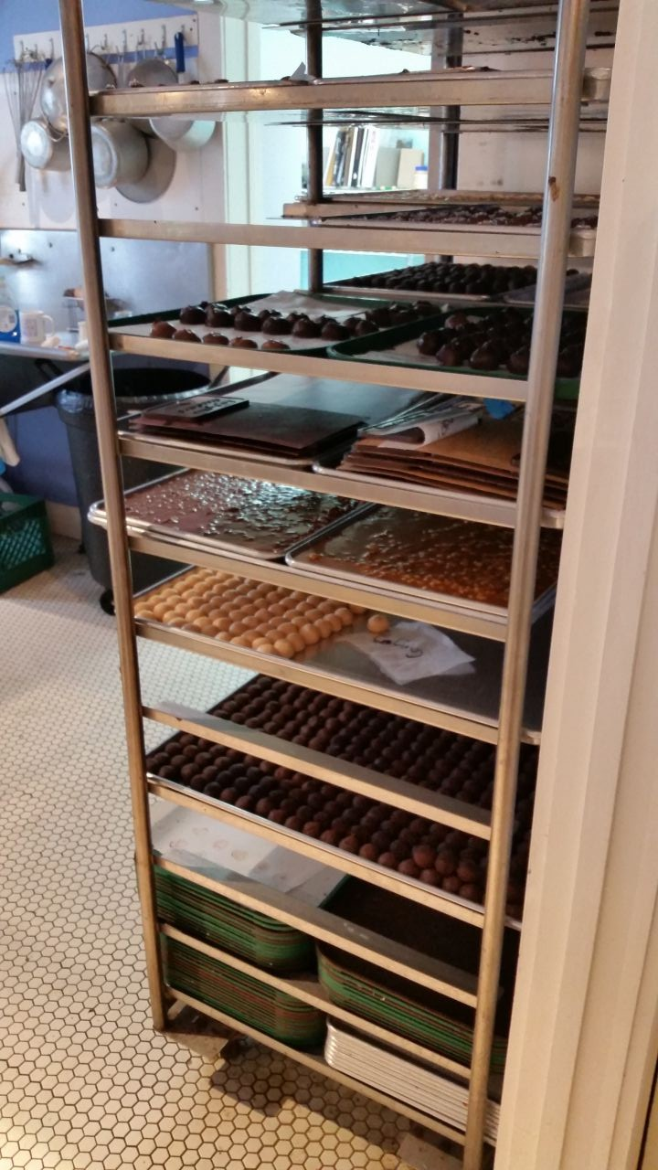 Laughing Moon Chocolates In Stowe, Vermont