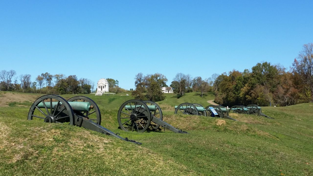 National Military Park In Vicksburg, MS