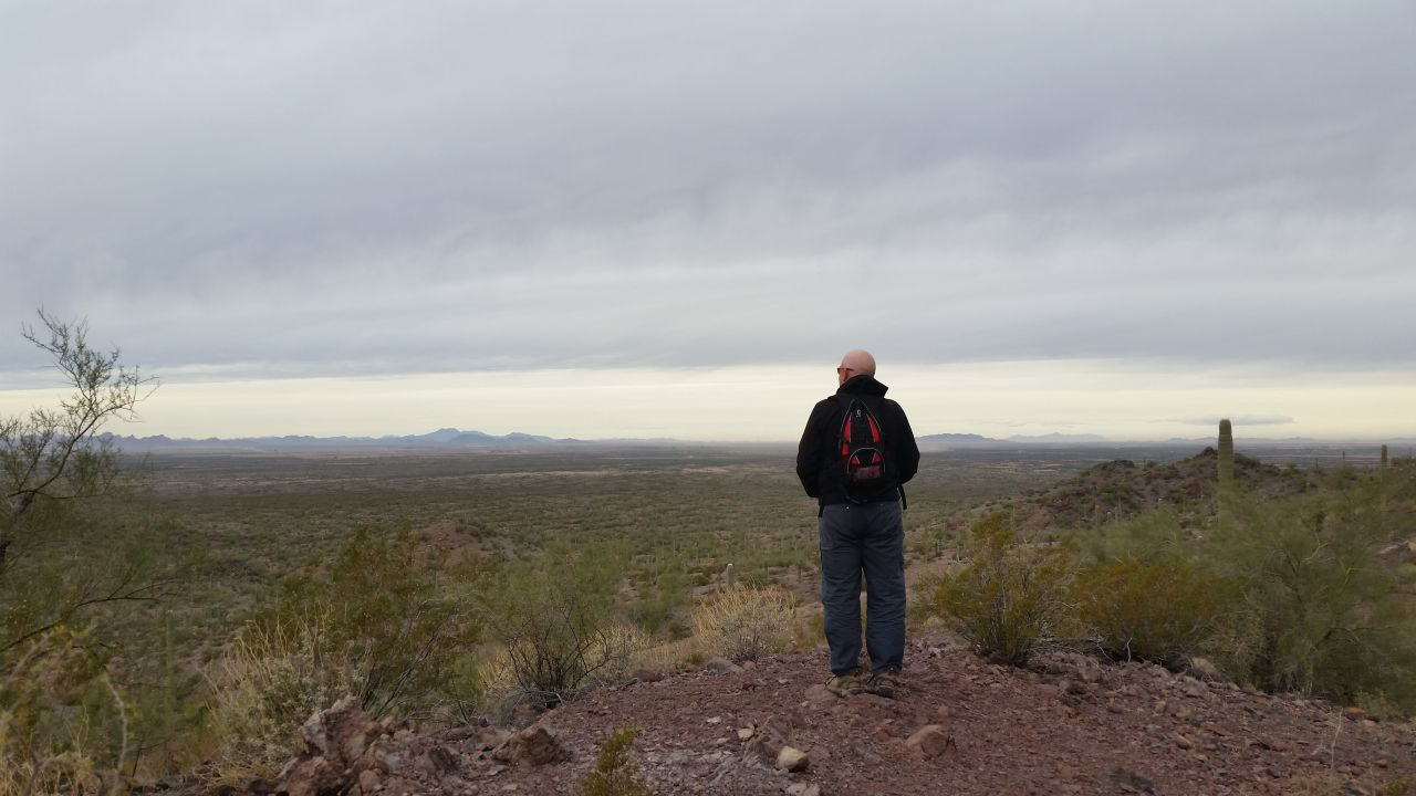 Hiking At Picacho Peak State Park
