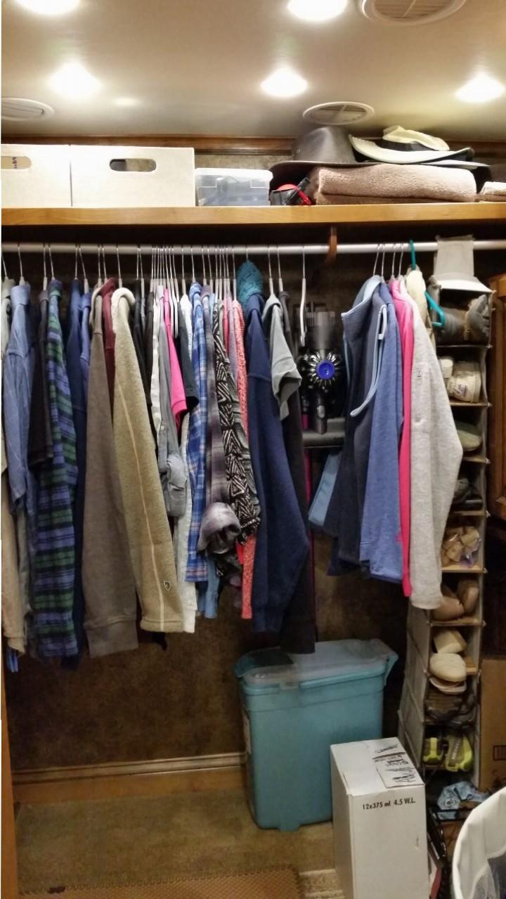 Storage In The Closet