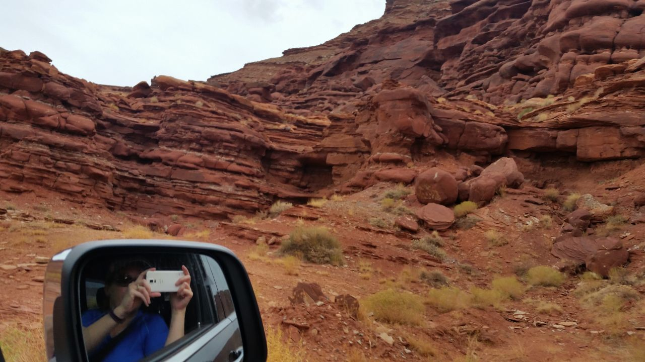 On The Chicken Corner's Off Roading Trail In Moab, Utah
