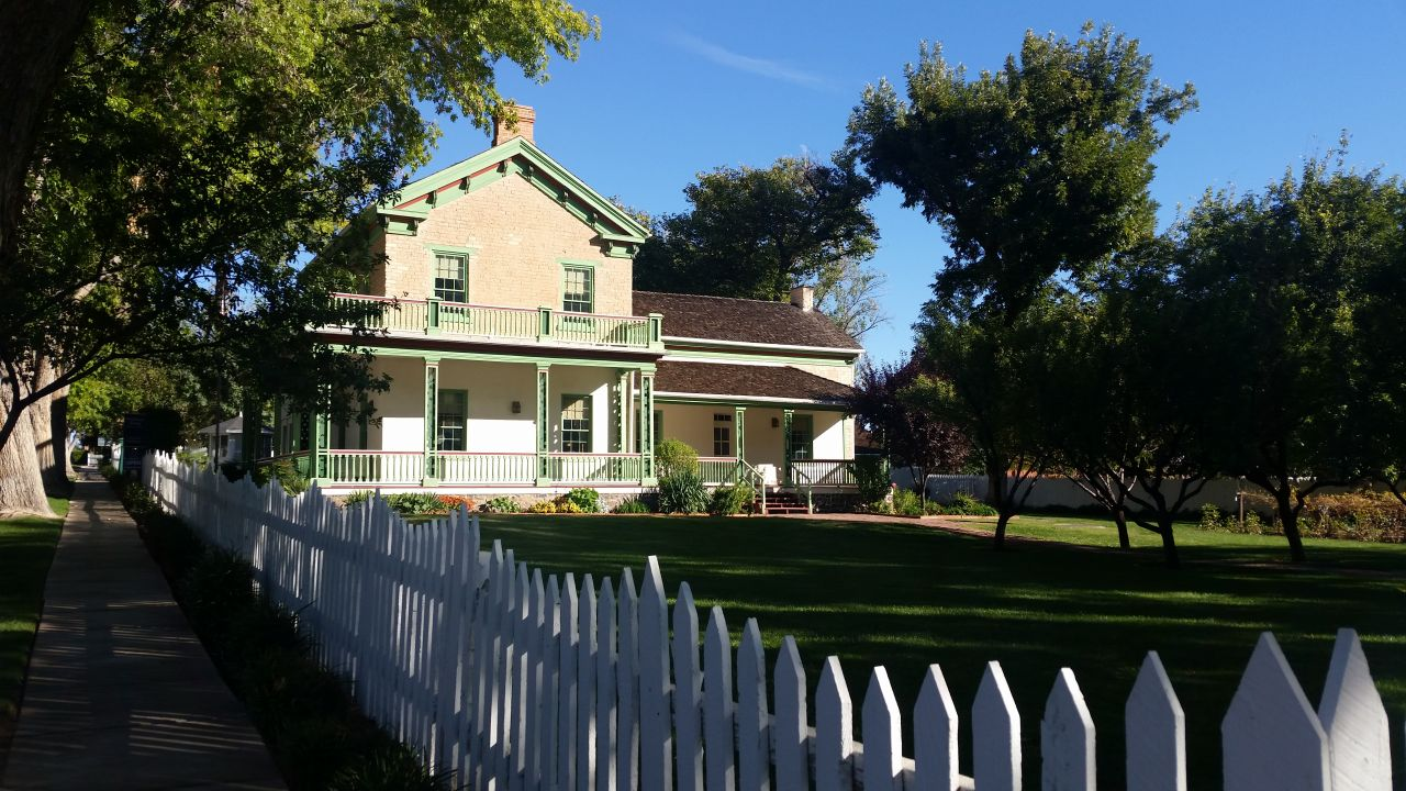 Brigham Young Home In St. George, Utah