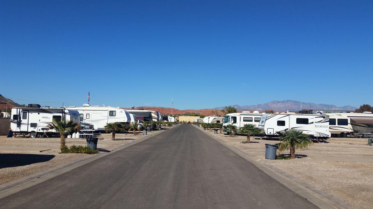 Temple View RV Resort in St. George, Utah