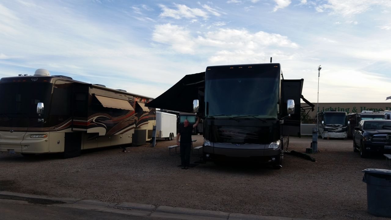 Our Site At Temple View RV Resort In St. George, Utah