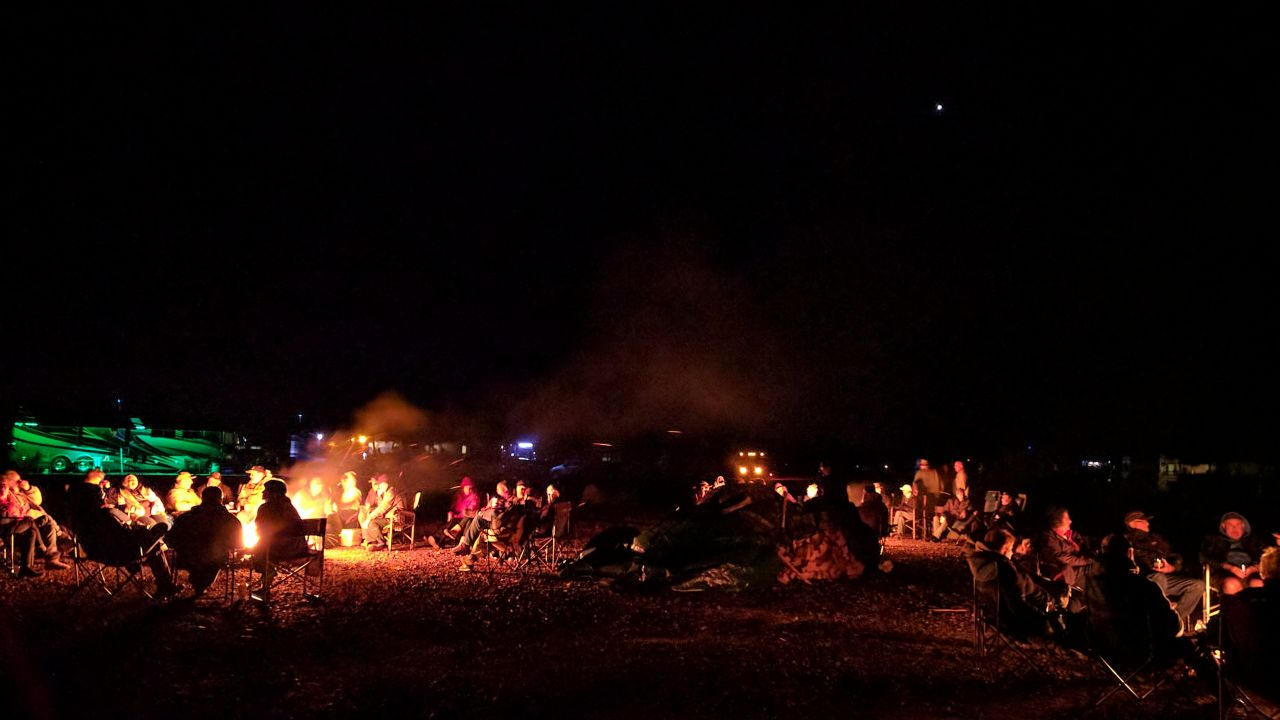 Evening Campfires At OOBerfest 2017