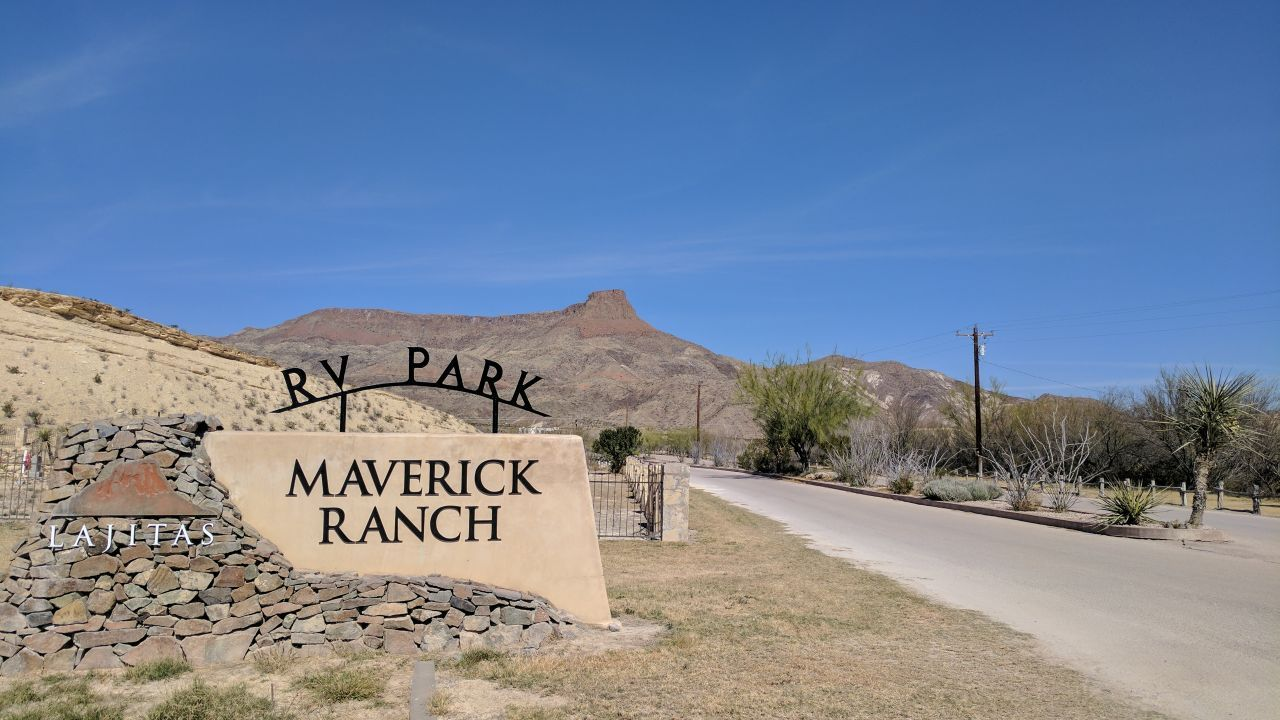 Maverick Ranch RV Park In Lajitas, Texas