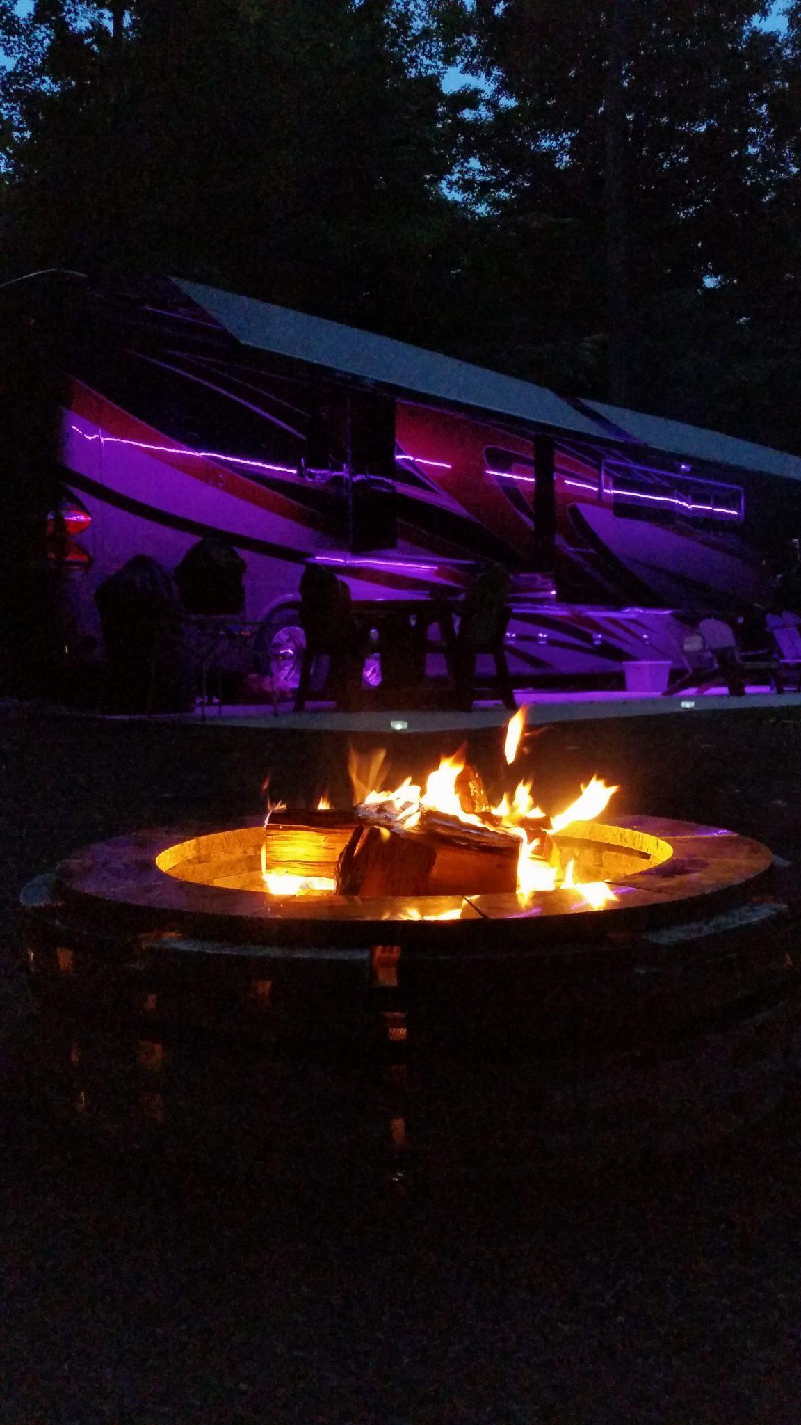 """Campfire At The """"Bott-Lott"""""""